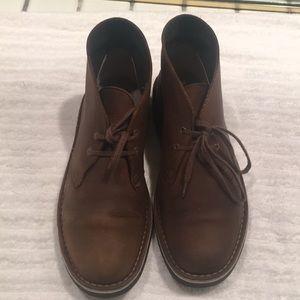 Clark's desert leather chukka boots